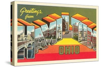 Greetings from Hamilton, Ohio