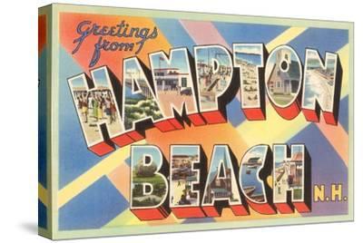 Greetings from Hampton Beach, New Hampshire