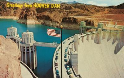 Greetings from Hoover Dam, Nevada