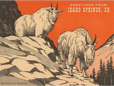Greetings from Idaho Springs, Colorado--Art Print