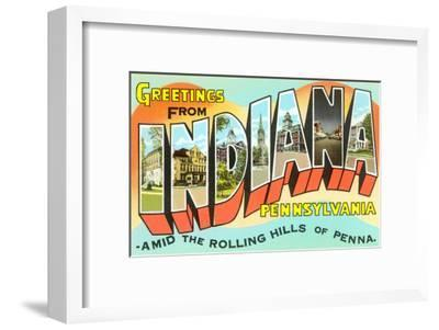 Greetings from Indiana, Pennsylvania