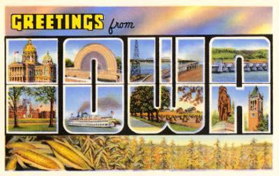 Greetings from Iowa