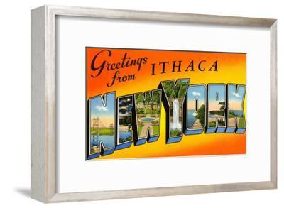 Greetings from Ithaca, New York