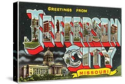 Greetings from Jefferson City, Missouri