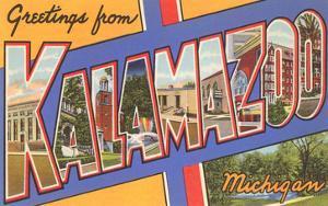 Greetings from Kalamazoo, Michigan