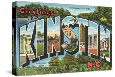 Greetings from Kinston, North Carolina