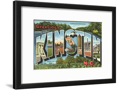 Greetings from Kinston, North Carolina