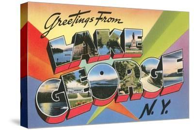 Greetings from Lake George, New York
