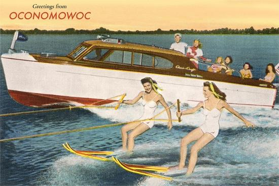 Greetings from Lake Oconomowoc--Art Print