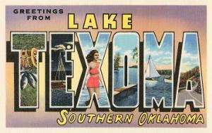 Greetings from Lake Texoma, Oklahoma