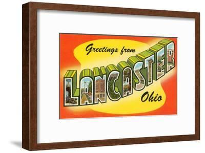 Greetings from Lancaster, Ohio