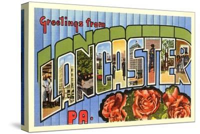 Greetings from Lancaster, Pennsylvania