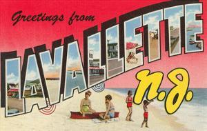 Greetings from Lavallette, New Jersey