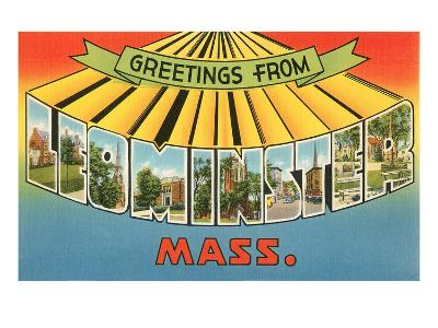 Greetings from Leominster, Mass.--Art Print