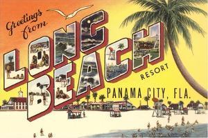 Greetings from Long Beach Resort, Panama City, Florida