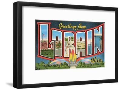 Greetings from Loran, Ohio
