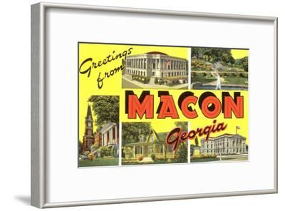 Greetings from Macon, Georgia