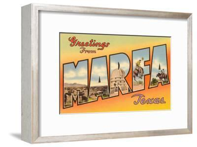 Greetings from Marfa, Texas