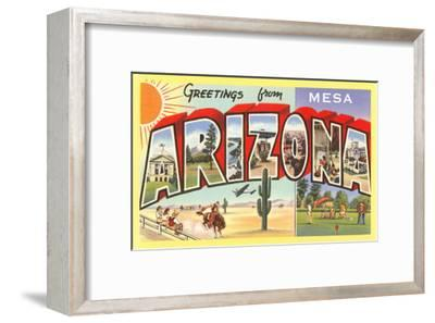 Greetings from Mesa, Arizona