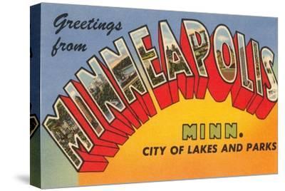 Greetings from Minneapolis, Minnesota