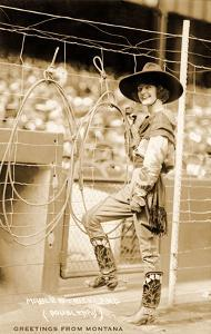 Greetings from Montana, Cowgirl Trick Roper