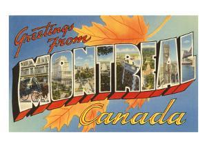 Greetings from Montreal, Canada