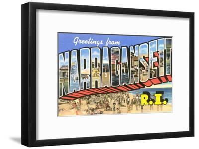 Greetings from Narragansett, Rhode Island