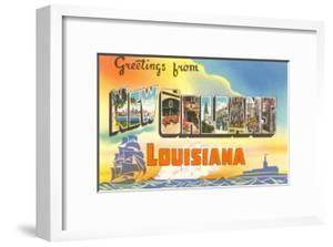Greetings from louisiana artwork for sale posters and prints at art greetings from new orleans louisiana m4hsunfo