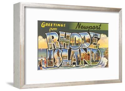 Greetings from Newport, Rhode Island