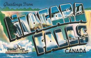 Greetings from Niagara Falls, Canada