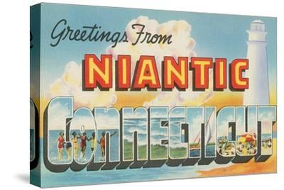Greetings from Niantic, Connecticut