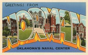 Greetings from Norman, Oklahoma