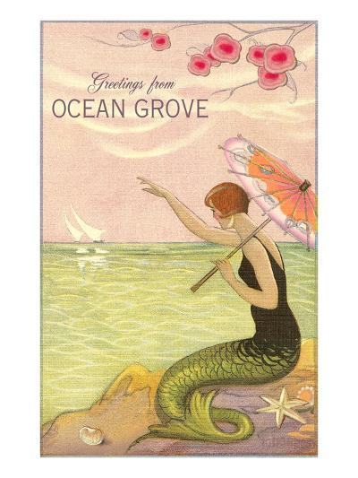 Greetings from Ocean Grove, New Jersey--Art Print