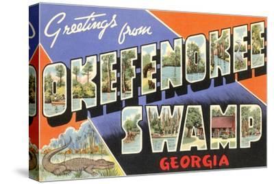 Greetings from Okefenokee Swamp, Georgia