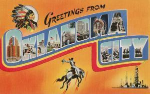 Greetings from Oklahoma City