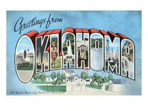 Greetings from Oklahoma