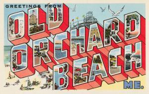 Greetings from Old Orchard Beach, Maine