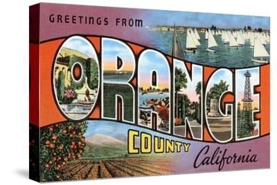 Greetings from Orange County, California