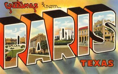 Greetings from Paris, Texas