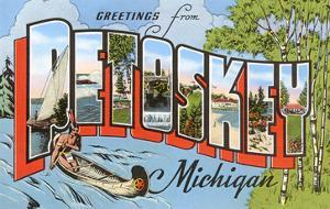 Greetings from Petoskey, Michigan