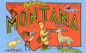 Greetings from Philipsburg, Montana