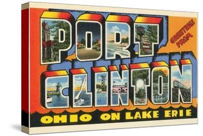 Greetings from Port Clinton, Ohio