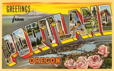 Greetings from Portland, Oregon