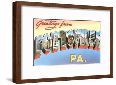 Greetings from Pottsville, Pennsylvania