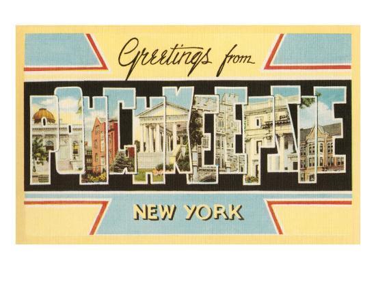 Greetings from Poughkeepsie, New York--Art Print