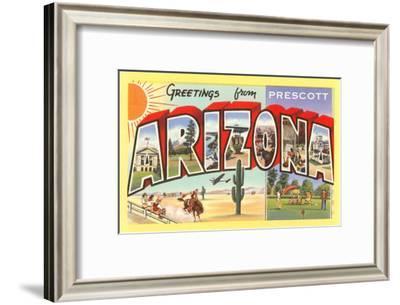 Greetings from Prescott, Arizona