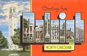 Greetings from Raleigh, North Carolina