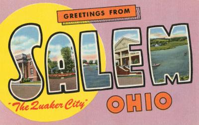 Greetings from Salem, Ohio