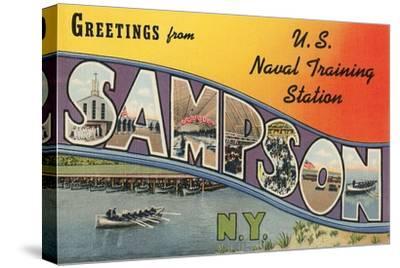 Greetings from Sampson, New York