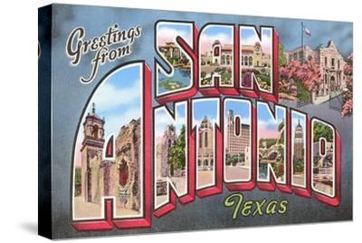 Greetings from San Antonio, Texas